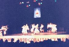 8 yrs Folk dance Urdd Crymmych 1995